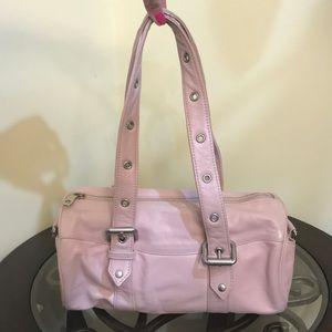 A/X Armani Exchange Lambskin Leather Shoulder Bag